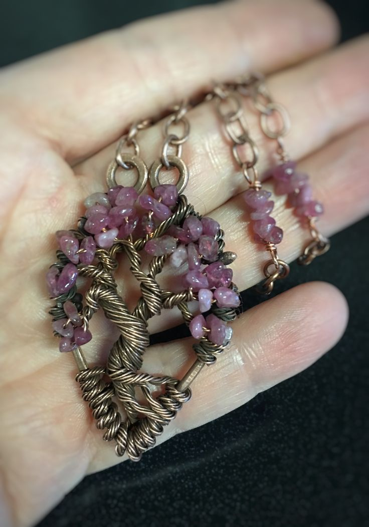 Albero della Vita - Tree of Life - Tormalina rosa
