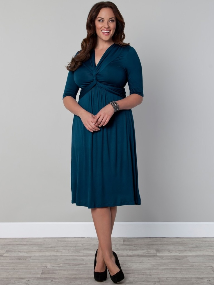 Sure to be a hit; our Trinity Twist Dress was inspired by our best-selling Caycee Twist Top.