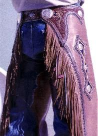 What I wouldn't give, just once, to see my husband in chaps.  Le sigh.