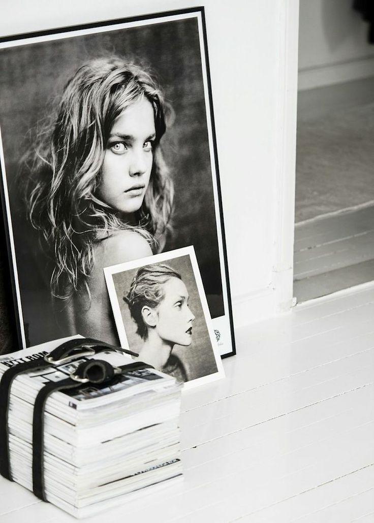 Frame black and white photos. estmagazine.com.au