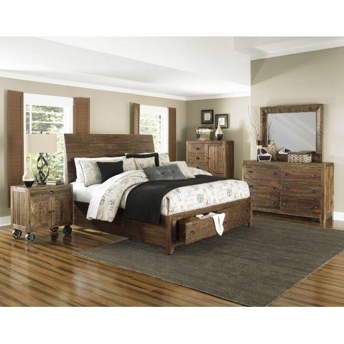 River Ridge 4-Piece King Storage Bedroom Suite