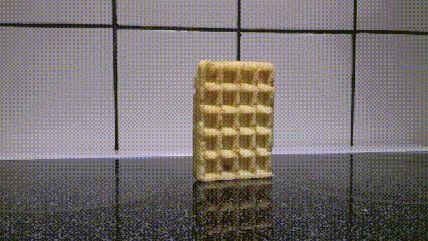 Michael Bay Waffle.gif