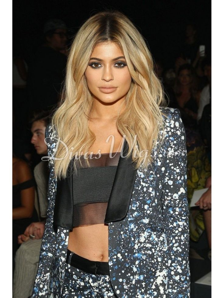 kylie Jenner Inspired ombre wavy Full Lace wig -KJ023 - Shop by Hairstyle - DivasWigs.com