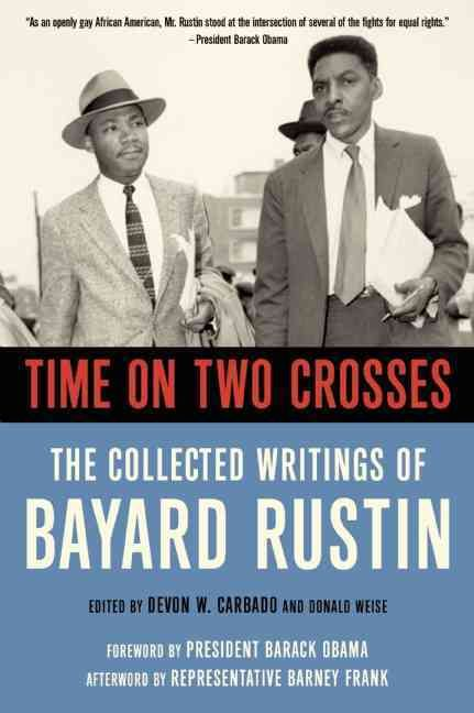 In 1956 Bayard Rustin taught Martin Luther King Jr. strategies of nonviolence during the Montgomery Bus Boycott, thereby launching the civil rights movement. Widely acclaimed as a founding father of m