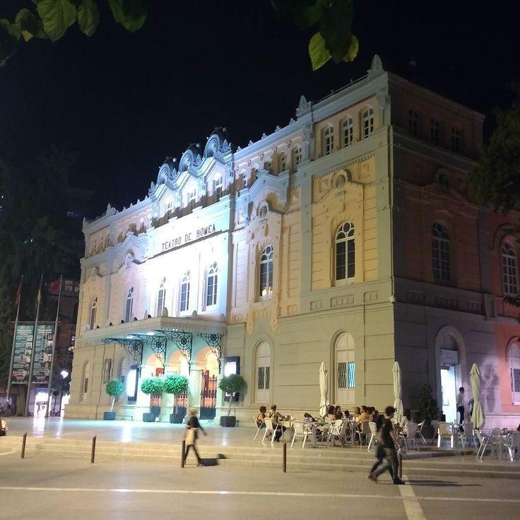Teatro Romea. #Murcia de noche.