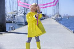 French Soda raincoats are a must have this Winter Season. Our raincoats will protect you from rain and hail so you can enjoy some fun outside! 100% Polyurethane Outer. | French Soda