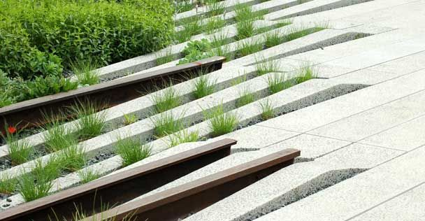 Landscaping Detail, High Line Park