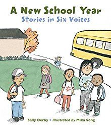 A New School Year: Stories in Six Voices by Sally Derby; illustrated by Mika Song. 2017. Watercolor and sumi ink with brush on Saunders Waterford watercolor paper. Published by Charlesbridge. Brief…