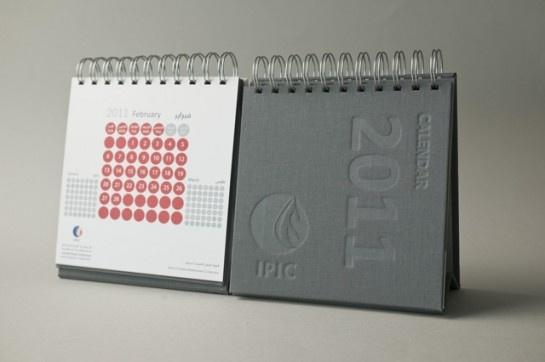Corporate calendars - IPIC calendar design by Zaman Branding