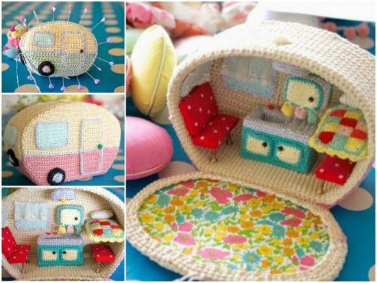 Amigurumi Vintage Crochet Caravan FREE Pattern