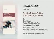 Education Policies in Pakistan Politics Projections and Practises in Lahore http://allevents.pk/events/Education-Policies-in-Pakistan-Politics-Projections-and-Practises-in-Lahore #Educationpolicies    #Pakistanpolitics     #projections   #practises    #Lahore