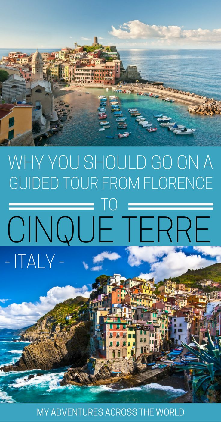 Cinque Terre is one of the most beautiful places to visit in Italy, but many give up going because they have limited time when traveling. The good news is that there's reputable companies that run day trips from Florence to Cinque Terre, and it is possible to enjoy this amazing place even with limited time | #cinqueterre #florence #beautifuldestinations
