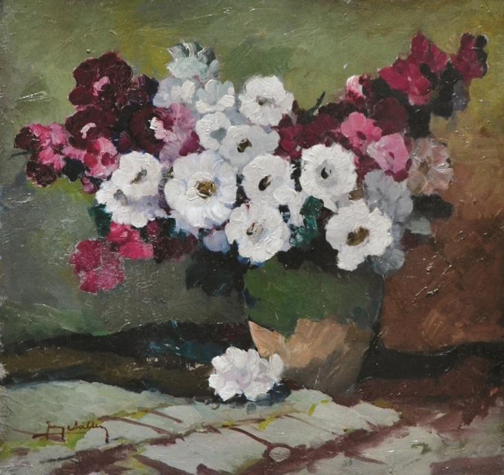 Jean Cheller - Flori în vas de lut