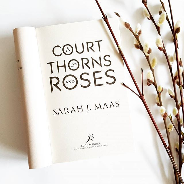 Finally reading it! #courtofthornsandrosesseries #courtofthornsandroses #sarahjmaas #sarahmaas #ya #youngadult #fantasy #book #books #bookstagram #bahniatka #kocicky #kniha #knihy #spring