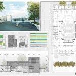 Proyecto Complejo Teatral y Audiovisual de Berazategui / Carbone Fernandez Arquitectos | Arquimaster
