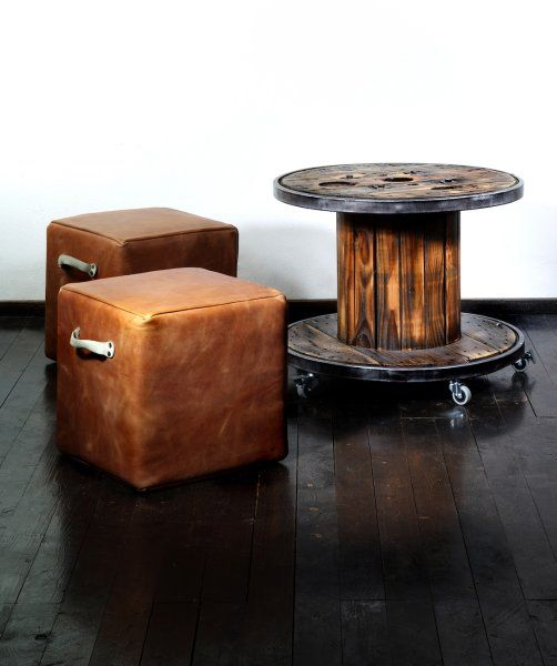 Edel Recycling: Möbel Aus Alten Turngeräten