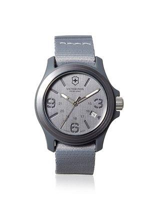 33% OFF Victorinox Swiss Army Men's 241515 Active Original Grey Canvas Watch