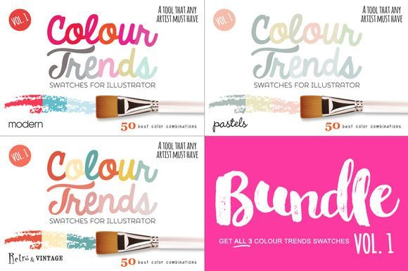 Great Colour Trends Swatches Vol1 Bundle