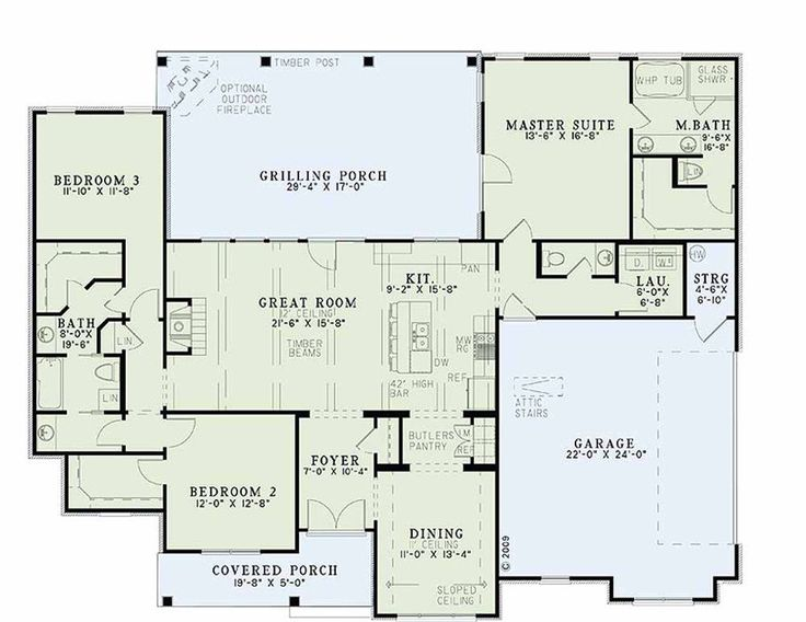 One Level House Plans With No Basement - http://uhousedesignplans.com/one-level-house-plans-with-no-basement/