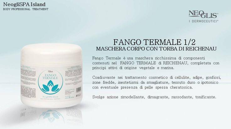 #FangoTermale: una maschera ricchissima di componenti contenuti nel FANGO TERMALE di REICHENAU, completata con principi attivi di origine vegetale e marina!
