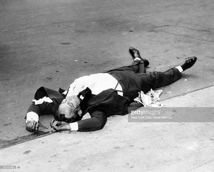 The body of John Masseria on 10th St News Photo | Getty Images