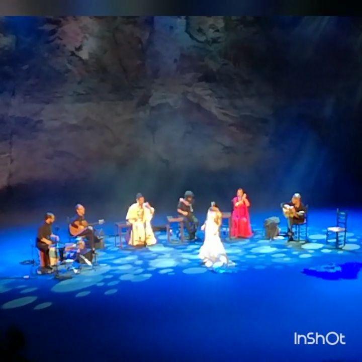 Gran #concierto en un hermoso #teatro en #barcelona. Marina Heredia Arcángel Carmen Linares. Baile de Ana Morales