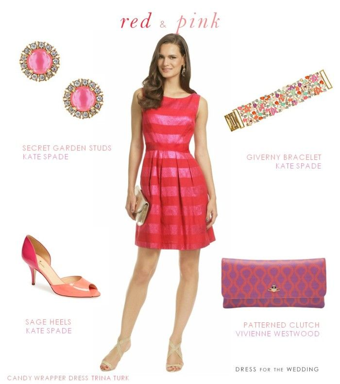 Red And Pink Dress For Valentine's Day