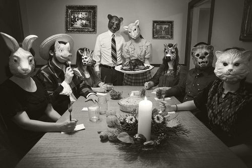Pin by jasper on mask pinterest furries dr who and - American history x dinner table scene ...