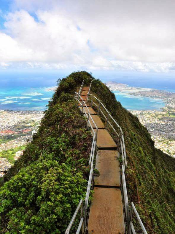 escalera Haiku, Hawaii