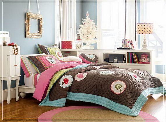 Desain Kamar Tidur Gadis kecil