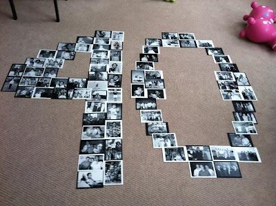 Birthday Party Photo Display idea: Display Photos, Birthday Parties, 21St Birthday, Parties Photos, Grad Parties, Photos Display, Dr. Who, Baby Initials, Display Ideas On