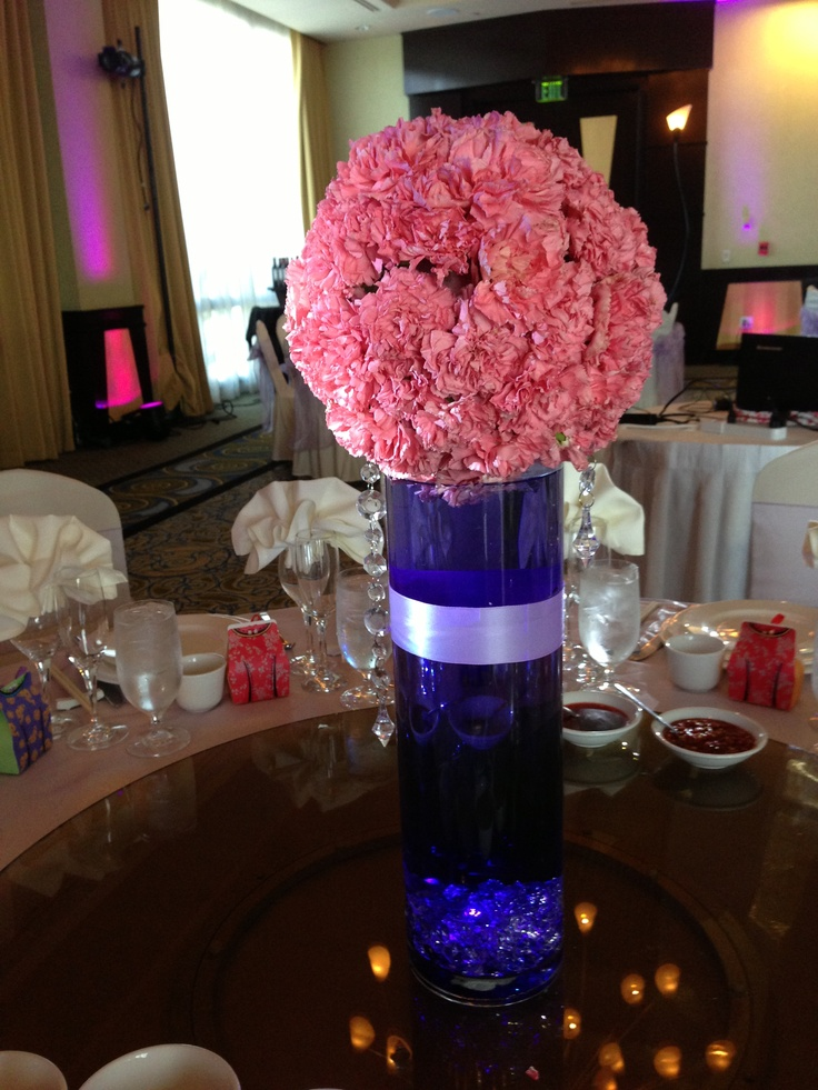 Best cylinder vase centerpieces images on pinterest
