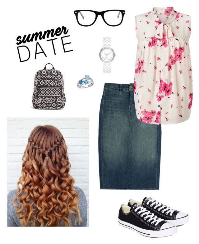 modest  by knipphannah on Polyvore featuring polyvore fashion style Somerset by Alice Temperley J Brand Converse Vera Bradley DKNY Muse clothing