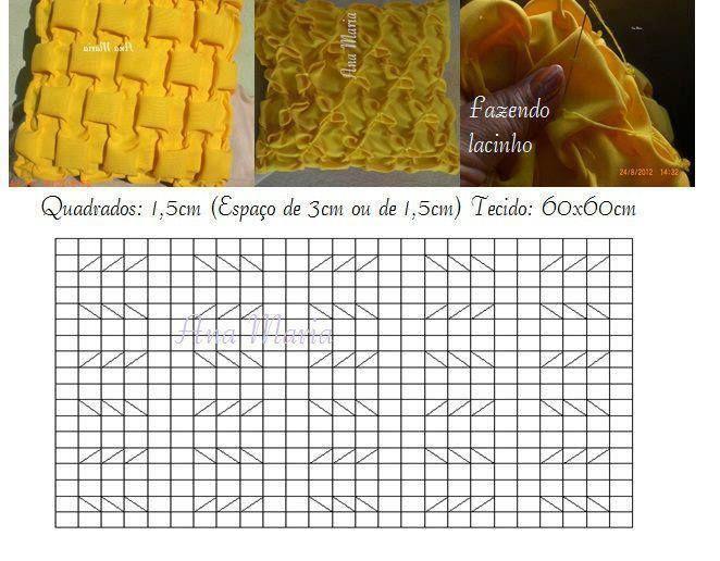 Cojines en capitone paso a paso cojines drapeados - Como hacer cojines ...
