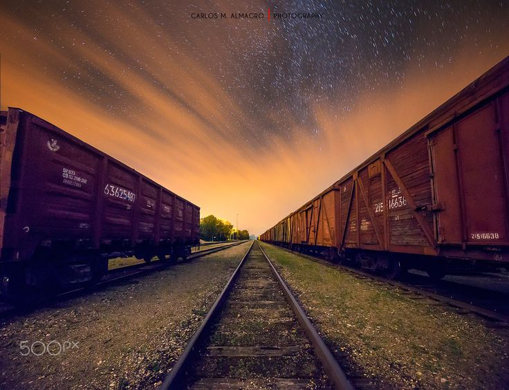 Train depot by Carlos M. Almagro  on 500px