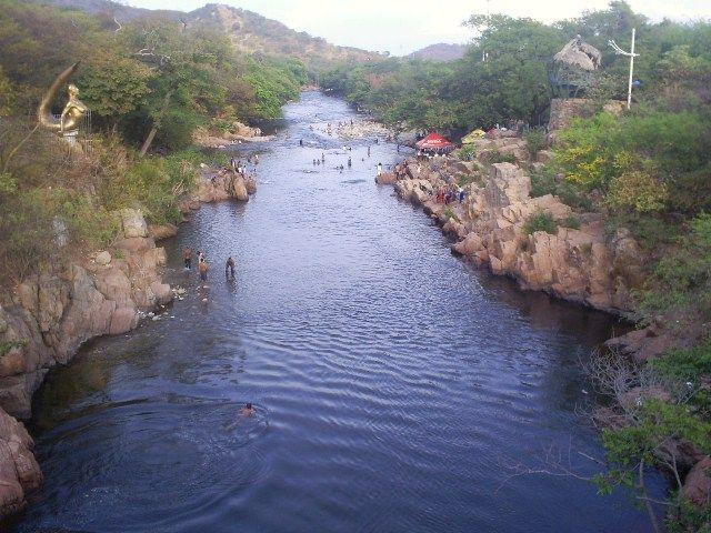 Río Guatapurí, Balneario hurtado VALLEDUPAR COLOMBIA   Provincia Hostel, Valledupar Colombia