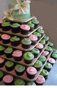 The Original Cupcake Tree Square  (  up to 100 cupcakes) $29