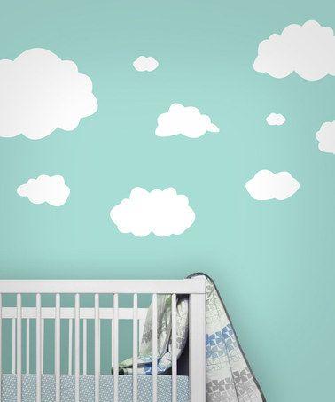 75 best images about nursery design clouds on pinterest paint star mobile and harry potter. Black Bedroom Furniture Sets. Home Design Ideas