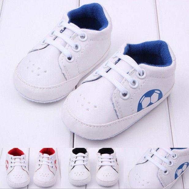 Новое поступление младенцев футбольные бутсы bebes мальчик младенческой девушкой малыша обувь детская детская кроссовки первые ходунки 1048