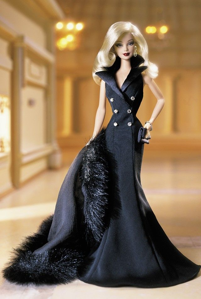 Midnight Tuxedo Barbie Doll - 2001 Official barbie Collector Club Exclusive - Barbie Collector