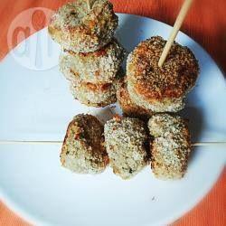 Polpettine di melanzane al forno al profumo di menta @ allrecipes.it