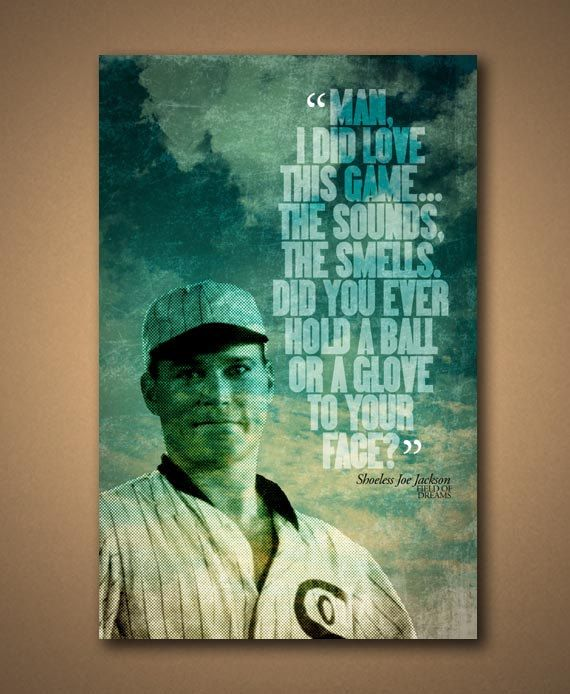 shoeless joe vs field of dreams The corn listens like a field of swaying disciples ray installs home plate like a grave marker [ foreshadow ] the process is all so slow, as dreams are slow, as dreams suspend time like a balloon hung in midair shoeless joe: significant quotations.