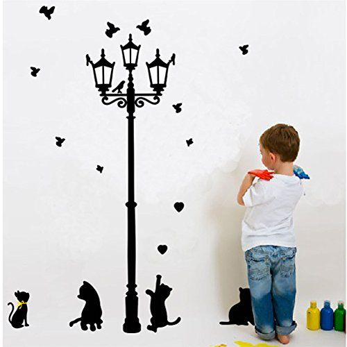 Zooarts Under The Lights Of The Cat Removable Wall Sticke... https://www.amazon.co.uk/dp/B01J1QWWSQ/ref=cm_sw_r_pi_dp_x_baUNybTWHY417