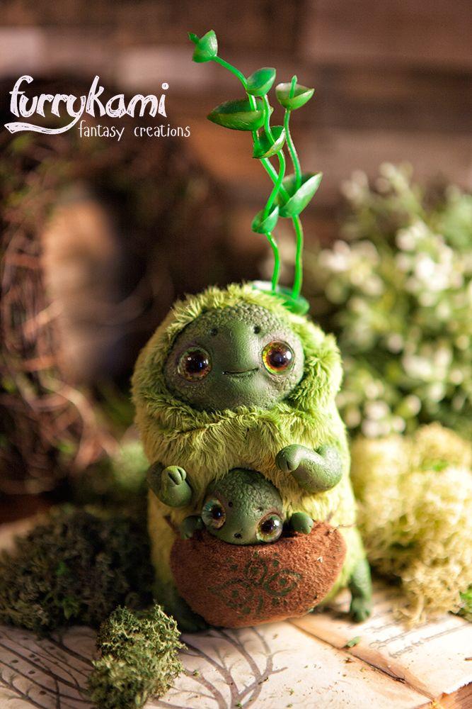 Swap Spirit art doll OOAK by Furrykami-creatures