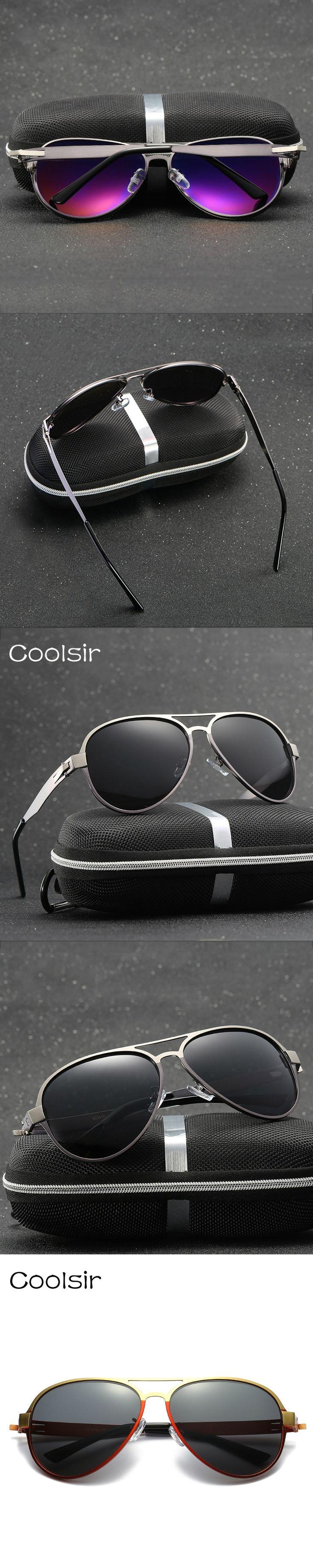 Hot Metal Frame Vintage Polarized Aviator Sunglasses Men Fashion Classic Brand Designer Driving Eyewear Lentes De Sol Hombre