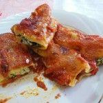 #Cannelloni con ricotta e spinaci #ricettebloggerriunite