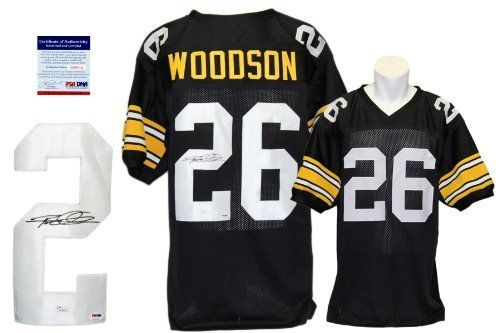 #fishingshopnow Rod Woodson Signed Custom Jersey - PSA/DNA - Autographed - Pro Style - Black: fishingshopnow are currently… #fishingshopnow