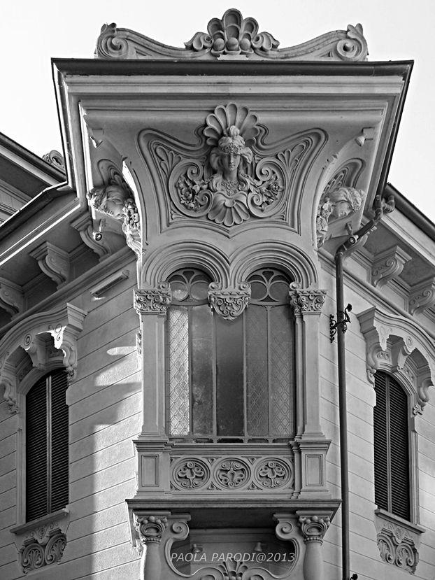 Villino Raby, Corso Francia 8 - 1901 Pietro Fenoglio (in collaborazione con Gottardo Gussoni)