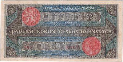 50 Kč 1922