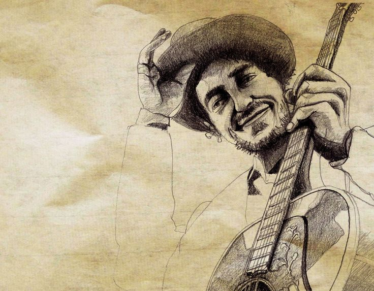 Dylan, dessin (crayon) ©Antoine Digout